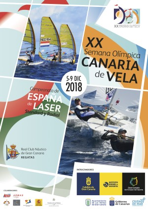 Cartel Semana Olimpica de Vela 2018